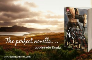 Her Highland Fling by Jennifer McQuiston